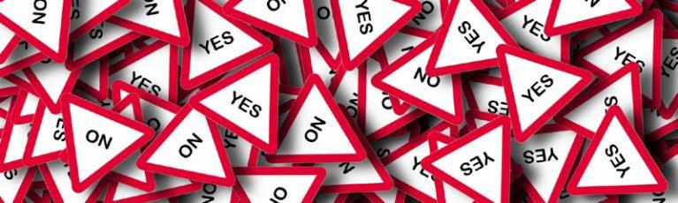 Entscheidungshilfe ja oder nein